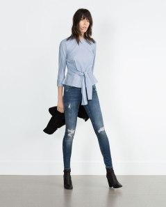 Jean skinny, ZARA, 49.99€, Réf. 6840/247