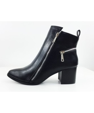Bottines à zip, MODASAB, 39, 99€